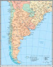 Map Of Southern America by Free Vector American Maps