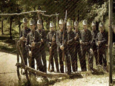 impresionantes imagenes soldados impresionantes fotos en color de la i guerra mundial