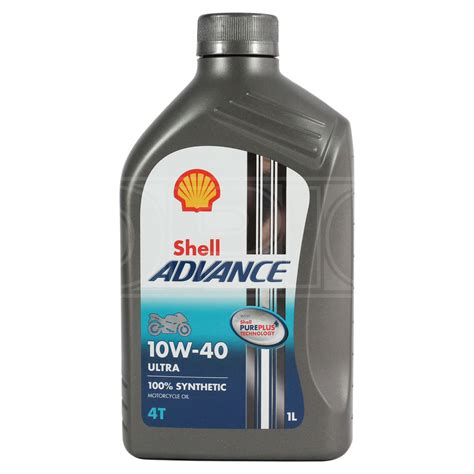 Oli Top 1 Synthetic 1 L shell advance ultra 4t 10w 40 fully synthetic motorcycle