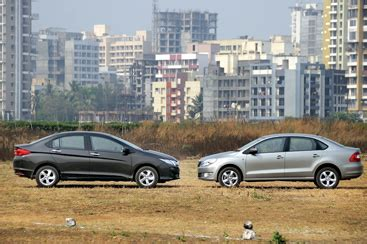 honda city diesel  skoda rapid diesel comparison feature autocar india