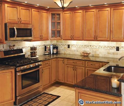 honey colored kitchen cabinets honey colored kitchen cabinets sandstone rope rta