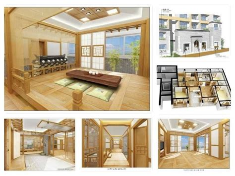 interiors designed like traditional korean homes hanok