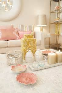 ideas living room seating pinterest: rose gold cotm blush and gold seating area would be perfect in a