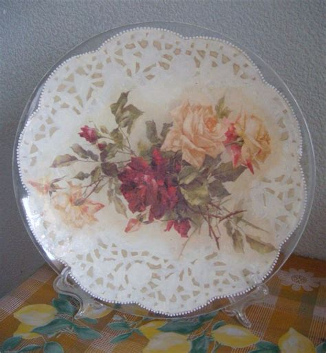 How To Decoupage Plates - decoupage plates with photos 28 images how to