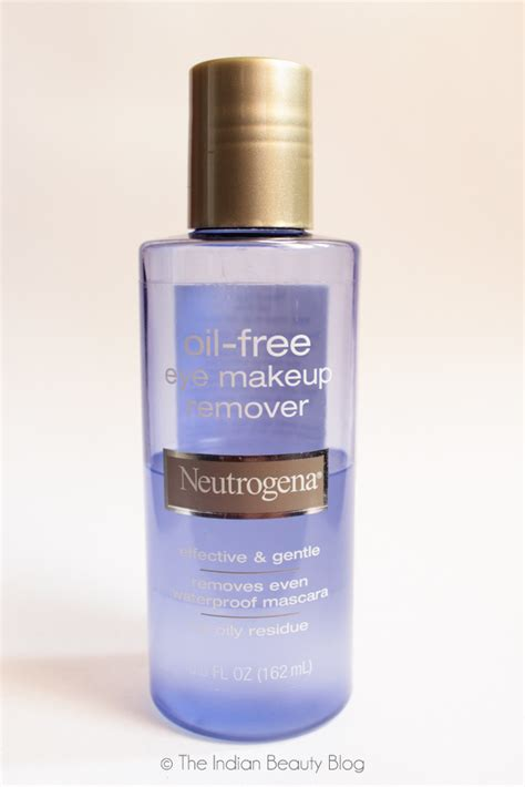 Neutrogena Makeup Remover neutrogena free eye makeup remover review the indian