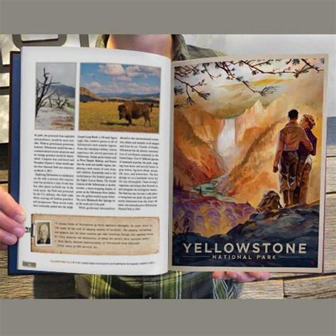 National Parks Coffee Table Book National Parks 160 Page Cover Coffee Table Book Design