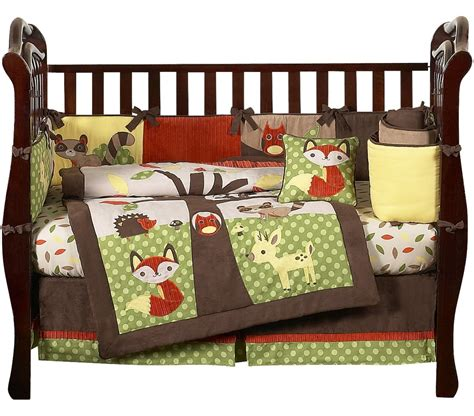 forest animal crib bedding forest friends animal baby bedding 9pc crib set sweet