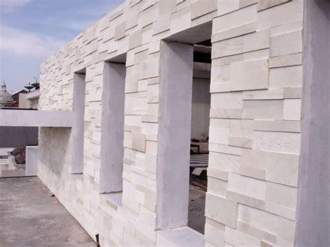 Batu Koral Putih Surabaya 7 jenis batu alam untuk tiang depan teras rumah batu