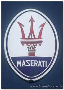 Maserati Badge Simon Cars Maserati Mistral