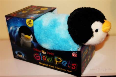 Penguin Glow Pillow Pet by Pillow Pets Glow Pets Magical Pets That Lite Up At Bj S