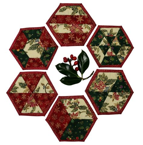 Patchwork Coasters - coasters make patchwork
