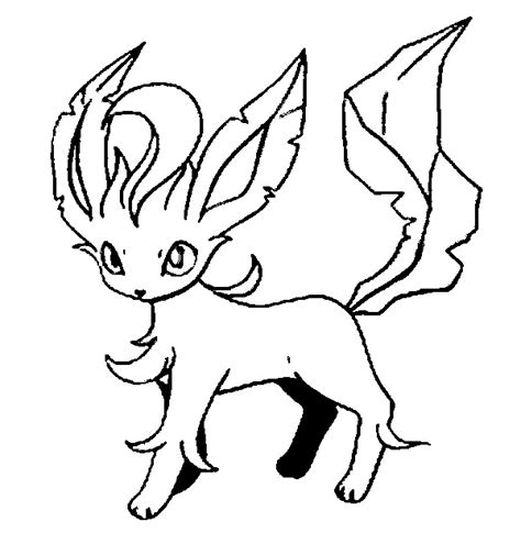 pokemon coloring pages of leafeon coloring pages pokemon leafeon drawings pokemon