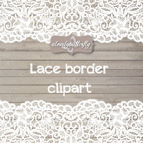 lace border clip wedding clipart lace border rustic clipart shabby chic