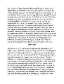 Personal Development Essay by Personal And Professional Development Plan Sle Essay