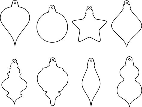 search results for christmas ornament clip art pdf