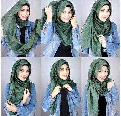 tutorial hijab pashmina untuk orang gemuk 12 tutorial hijab pashmina wajah bulat untuk pesta kreasi