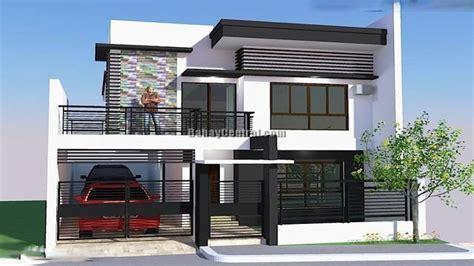 house design open plan living modern bungalow house designs philippines zen type house design