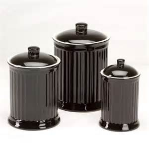 omni simsbury canisters set of 3 black