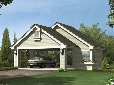 Gilana Carport With Storage Plan 009d 6004 House Plans House Plans With Carport