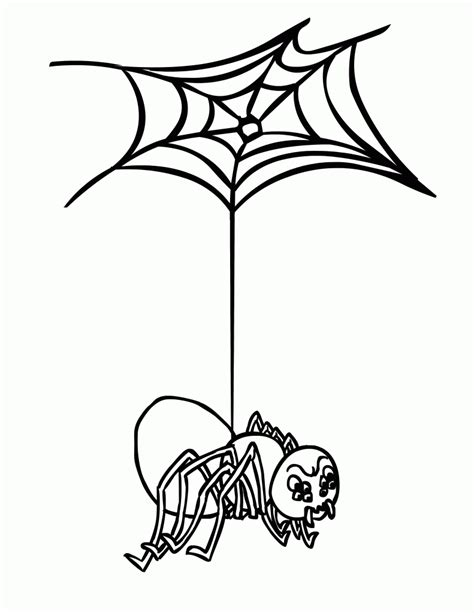free printable spider web coloring pages for kids free printable spider web coloring pages for kids