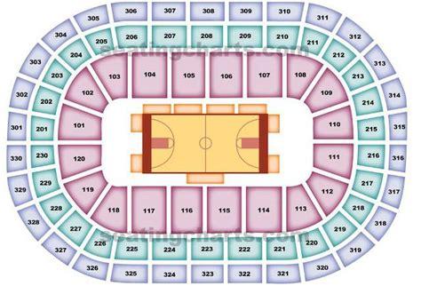 oklahoma city thunder seating chart chesapeake energy arena seating chart rows brokeasshome