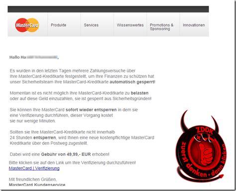 kreditkarte at phishing phishing warnung ihre mastercard kreditkarte ist