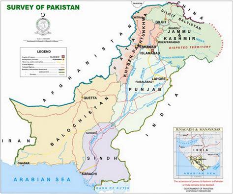 map of pakistan map of pakistan consulate general of pakistan