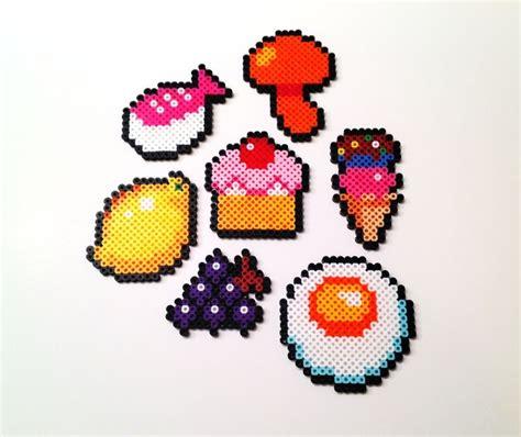 perler bead food food perler perler