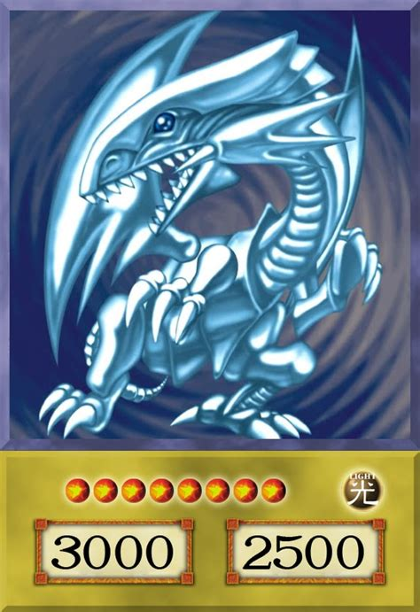 the gallery for gt blue eyes white dragon anime card