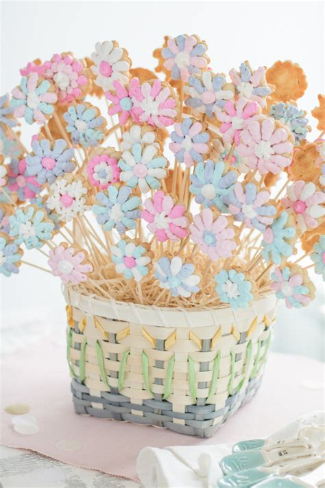 diy flower pot cookies recipe pictures photos and images flower cookie bouquet spring diy danielle connor