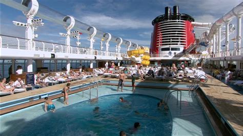 disney fantasy cruise pools with aquaduck quiet cove a