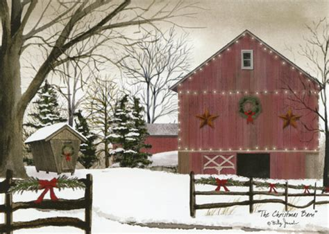 words for christmas barn seen the barn box of 18 cards by lpg greetings