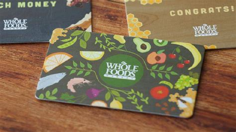 why you shouldn t buy whole foods gift cards online eater - Whole Foods Online Gift Card