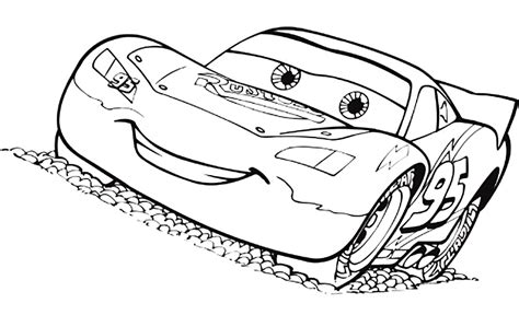 imagenes para colorear rayo macuin dibujo de cars para colorear rayo mcqueen dibujar