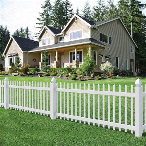 white backyard fence 75 fence designs and ideas backyard front yard