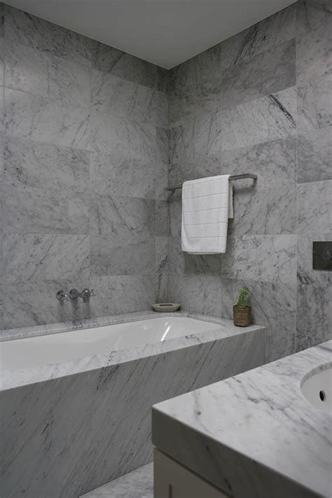 bathrooms with carrera marble bathroom with carrera marble modern bathroom denai