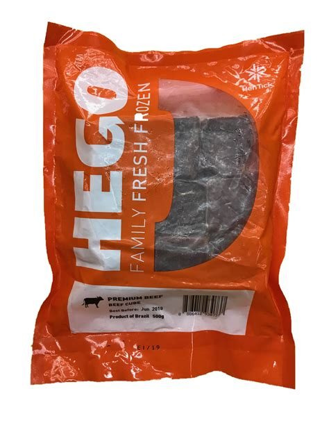 Alpo Beef 1 5kg hego premium beef cube 500g frozen chilled products