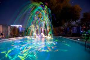 Glow stick pool on pinterest