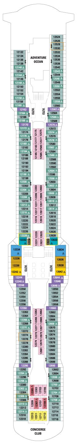 quantum deck plan quantum of the seas deck plans