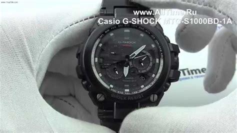 Casio G Shock Mtg S1000bd 1a Jam Tangan Pria Hitam обзор мужские наручные часы casio g shock mtg s1000bd 1a