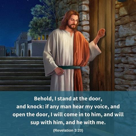 Stand At The Door And Knock by Behold I Stand At The Door And Knock Revelation 3 20