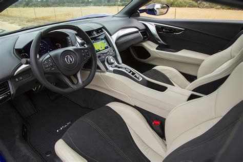 2016 Acura NSX Interior ? Acura Connected