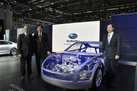 subaru rwd subaru showcases its upcoming rwd coupe s platform