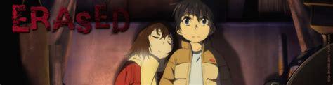erased anime avis critique de l anime erased anime vod news