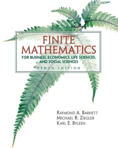 finite mathematics for business economics sciences and social sciences 14th edition books finite mathematics for business economics sciences