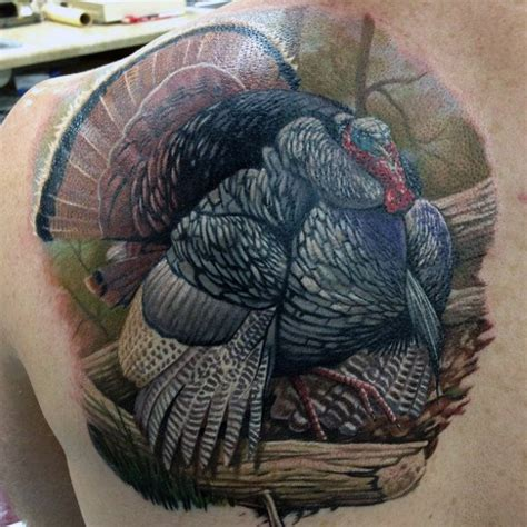 turkey tattoos top 40 best turkey tattoos for bird design ideas