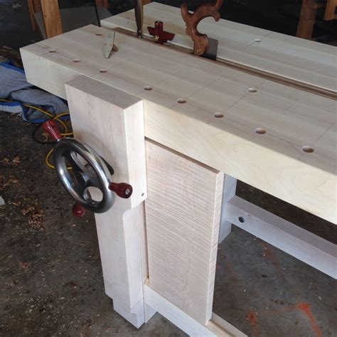 bench crafted my new split top roubo bench and a surprise from