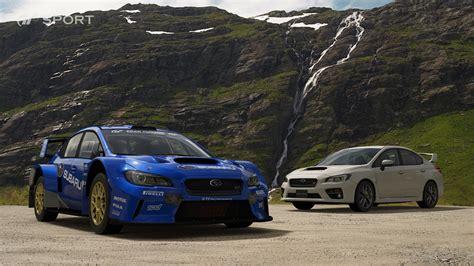 subaru sports cars list 78 new screenshots of gran turismo sport