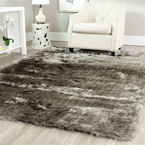 5 shag rug safavieh shag silver 5 ft x 7 ft area rug sg511 7575 57 the home depot