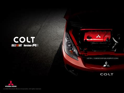 ralliart logo mitsubishi colt ralliart version r carscoops